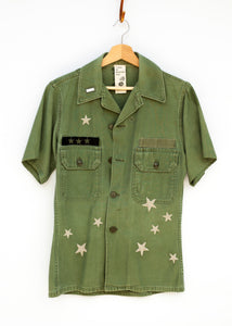 Star Spangled Army Jacket Shortie