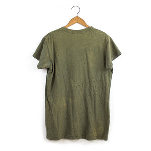 SHOTGUN DISTRESSED U.S ARMY TEE