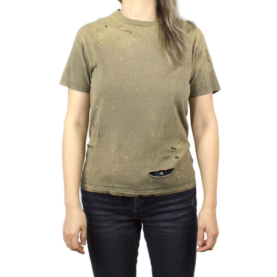 WWI PATCHED US ARMY DISTRESSED TEE