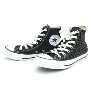 CUSTOM STUDDED CONVERSE CHUCK TAYLOR HIGH TOP - BLACK