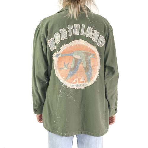 NORTHLAND BACK PATCH U.S. ARMY UTILITY SHIRT