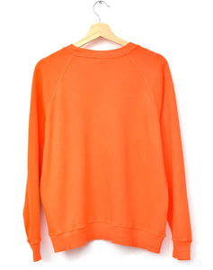 Neon Los Angeles Sweatshirt- Orange