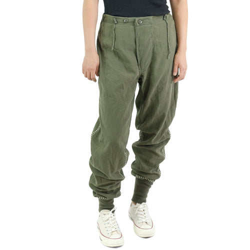BLANKET STITCH 60'S U.S. ARMY CHEMICAL PROTECTIVE PANTS - OG