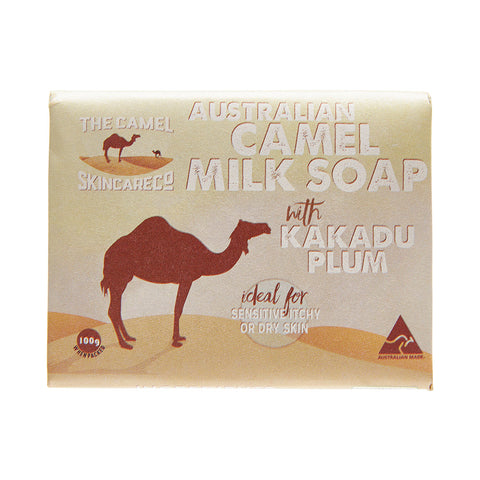 Australian Camel Milk 100g Soap with Kakadu Plum