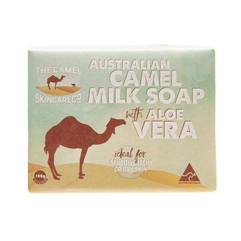 Australian Camel Milk 100g Soap with Aloe Vera