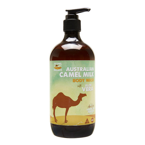 500ml Australian Camel Milk and Aloe Vera Hand and Body Wash