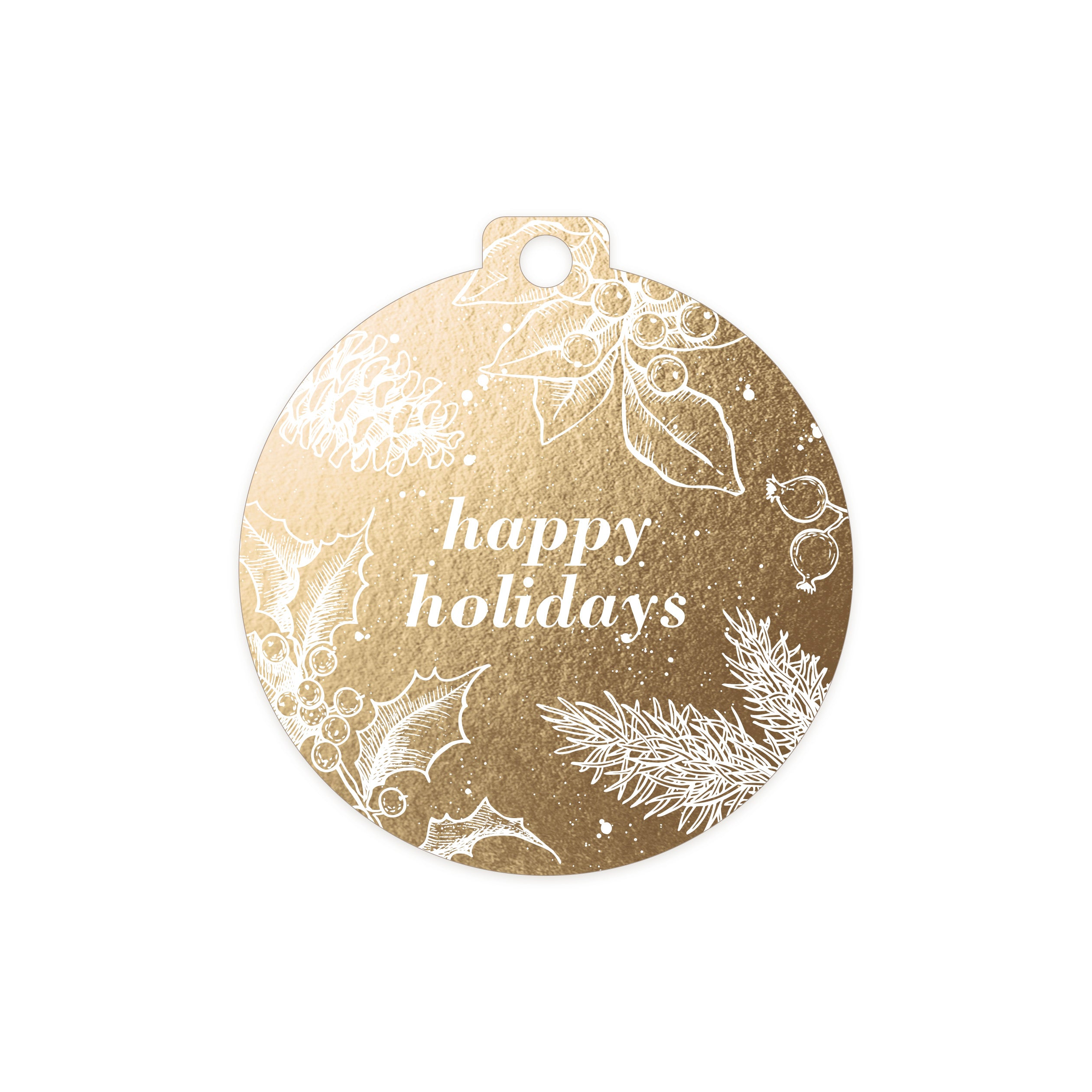 Happy Holiday Gift Tags