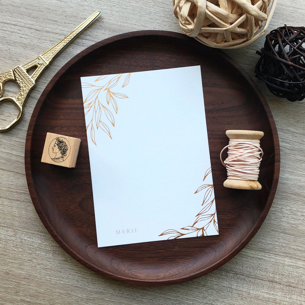 Olive Notecards