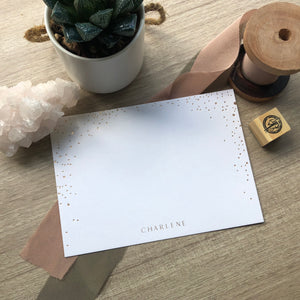 Sparkle Notecards
