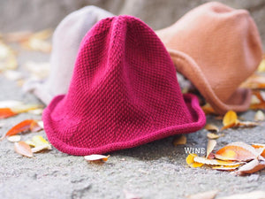 KNIT BUCKET HAT