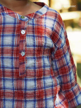COTTON CHECKED TOP