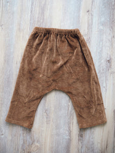 BROWN CORD DROP CROTCH