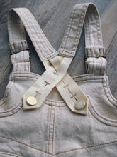 "CREAMY ""1936"" DUNGAREES"