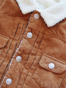 FAUX SHEARLING JACKET