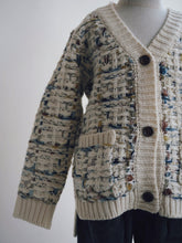 MULTI-COLOR KNIT CARDIGAN