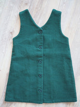 DARK GREEN SLEEVELESS DRESS