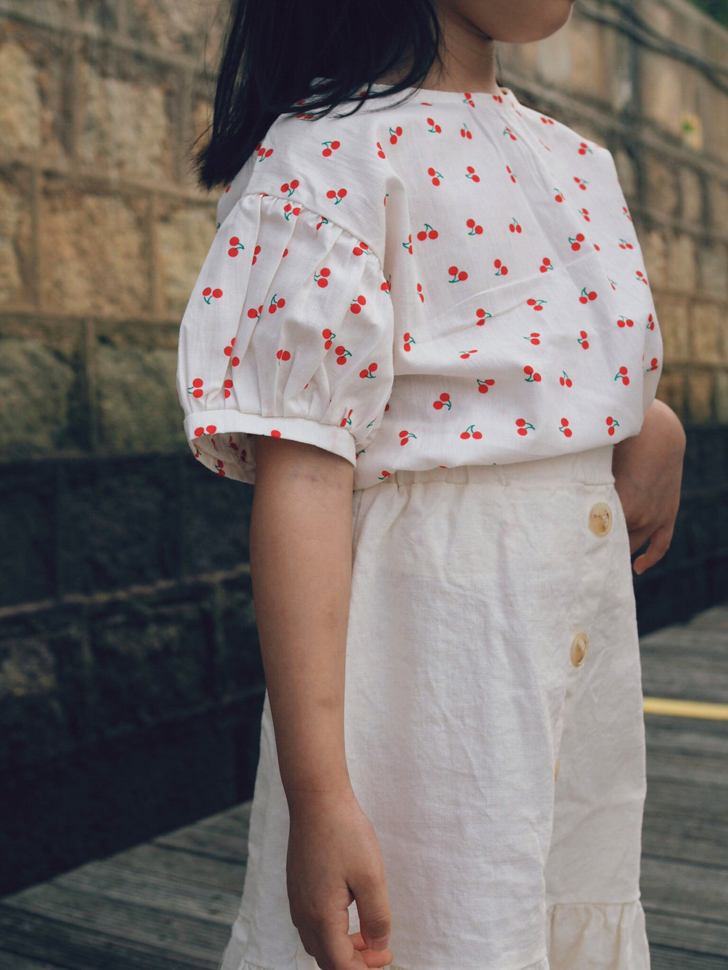 SIMPLICIOUS CHERRIES BLOUSE