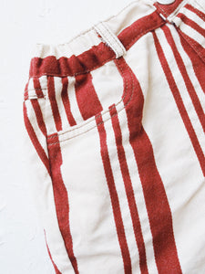 STRIPES SHORTS WITH POCKETS