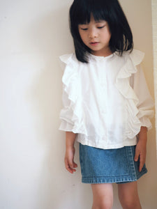 GIRLY RAFFLES BLOUSE