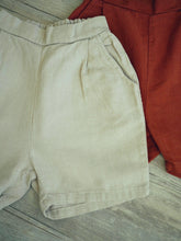 BOYISH LINEN POCKETS SHORTS