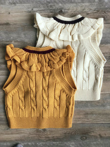 COLLAGE KNIT VEST