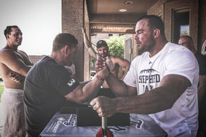 Pound for Pound Armwrestling to launch world's first dedicated Armwrestling Media, Tournament & Training Facility.