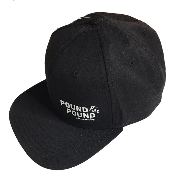 Pound for Pound Armwrestling Cap (flat brim)