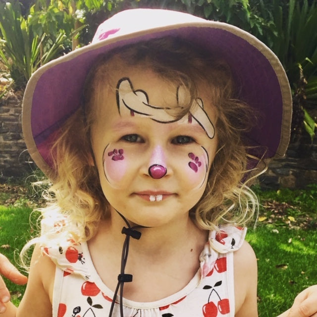 Easter school holidays face painting fun