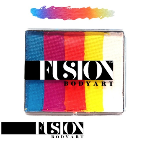 Fusion Rainbow Cake - Summer Sunrise 50gm