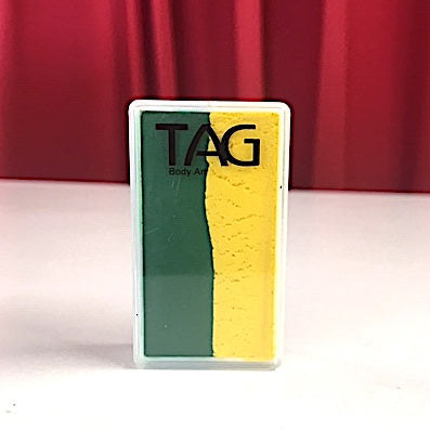 TAG Green & Gold One Stroke Face Paint