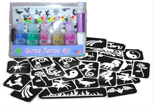 TAG Party Glitter Tattoo Kit