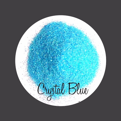 TAG Cosmetic Grade Puff Glitter Crystal Blue