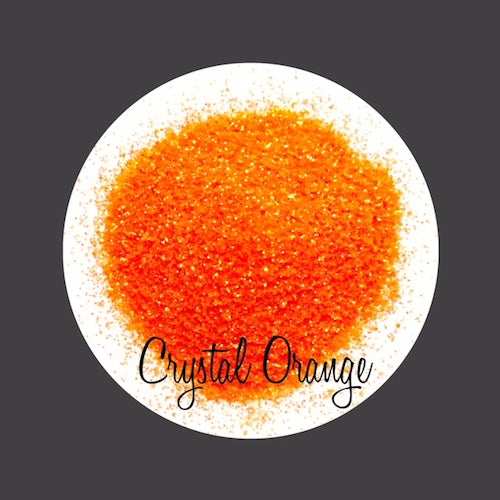 TAG Cosmetic Grade Puff Glitter Crystal Orange