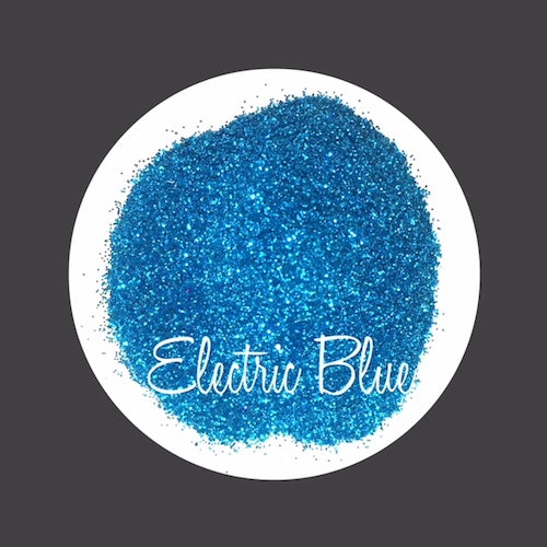 TAG Cosmetic Grade Puff Glitter Electric Blue