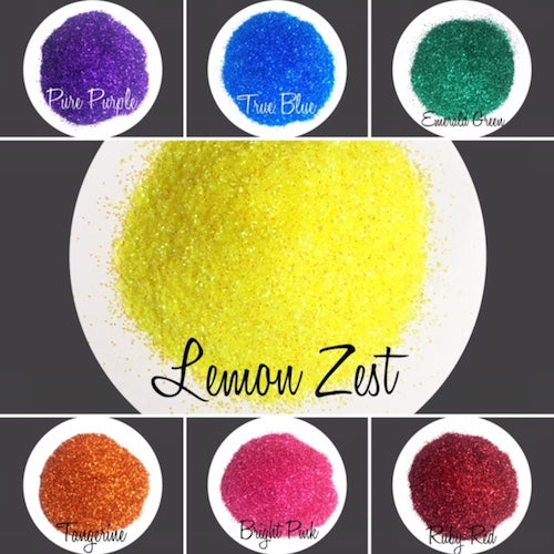 TAG Cosmetic Grade Puff Glitter Rainbow 7 Packs