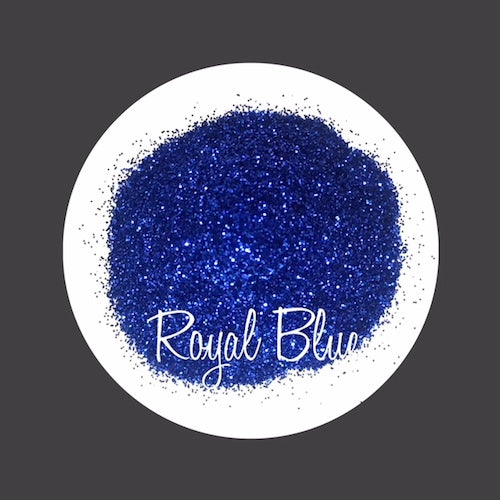 TAG Cosmetic Grade Puff Glitter Royal Blue