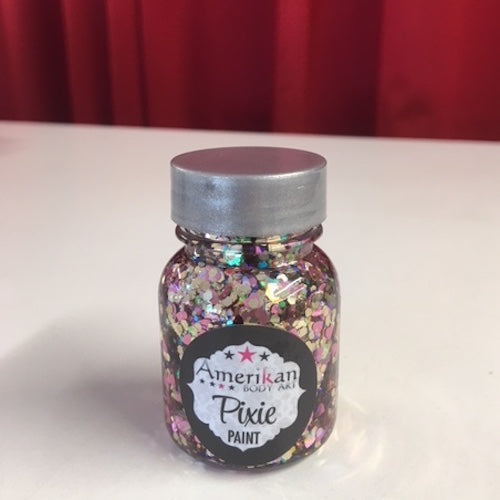 Amerikan Body Art Pixie Paint Glitter Gel Be Mine