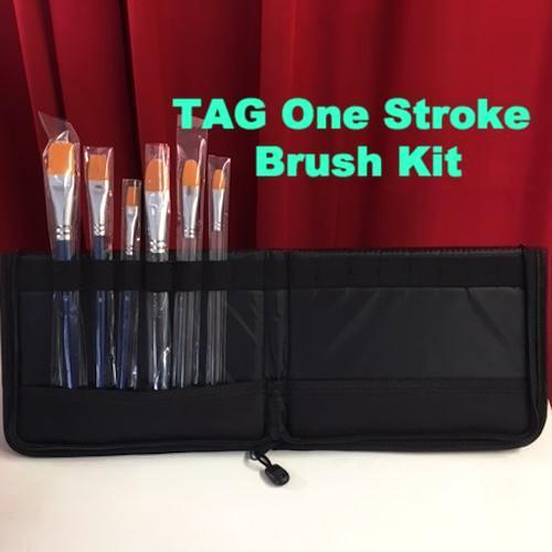 TAG One Stroke Brush Kit