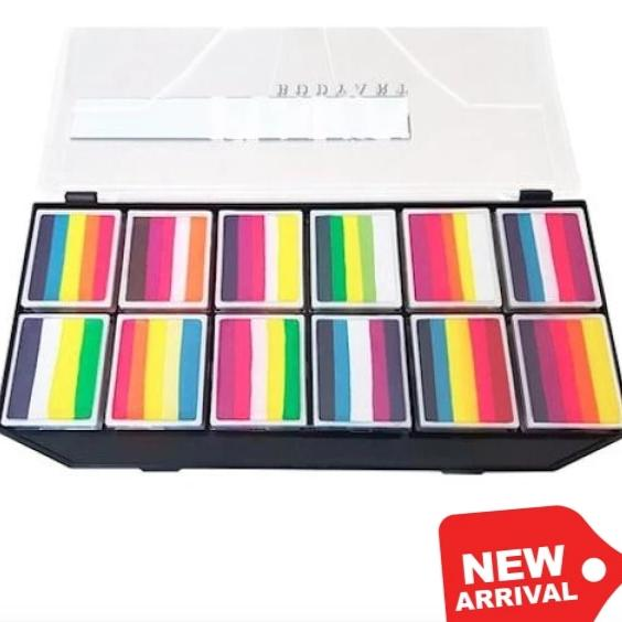 Fusion Body Art Spectrum Palette - Leannes Tropical Butterfly Fx Limited Edition