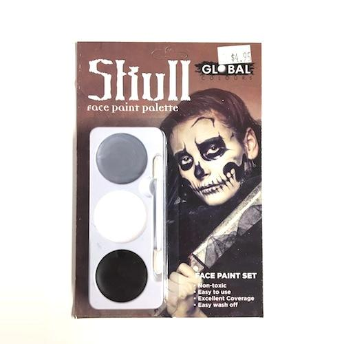 Global Skull Face Paint Kit