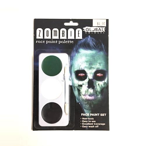 Global Zombie Face Paint Kit