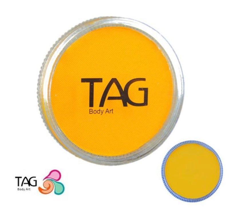 Tag Golden Orange Face & Body Paint 32g