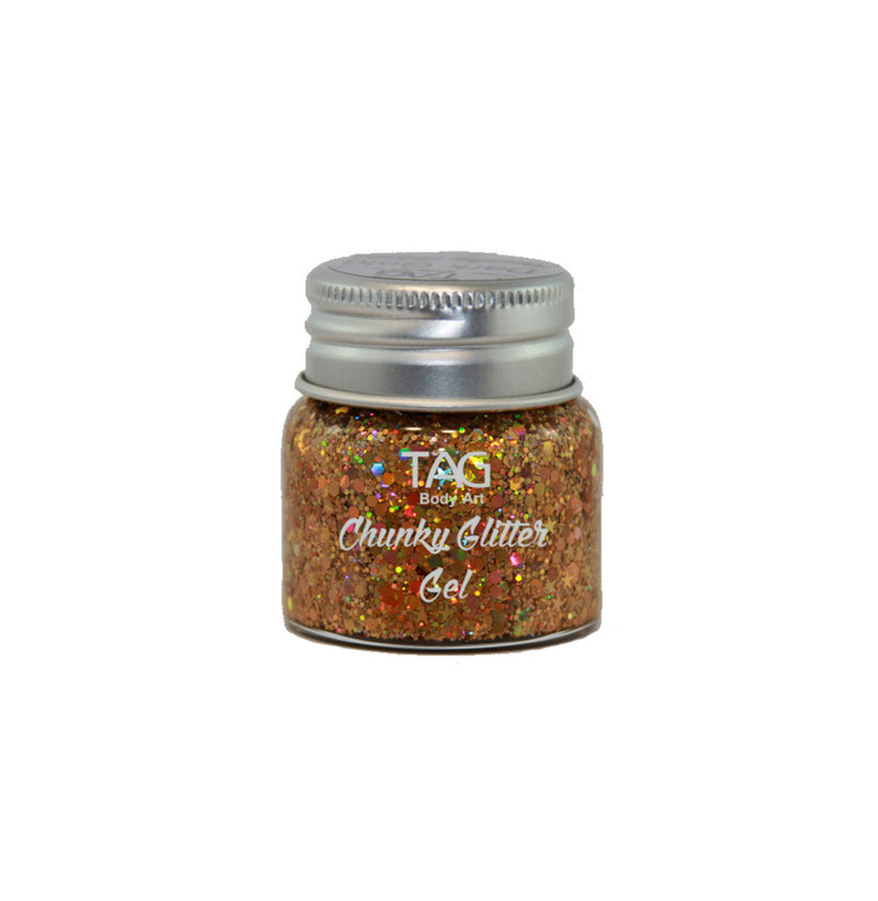 TAG Chunky Glitter Gel 20gm - 9 Colours