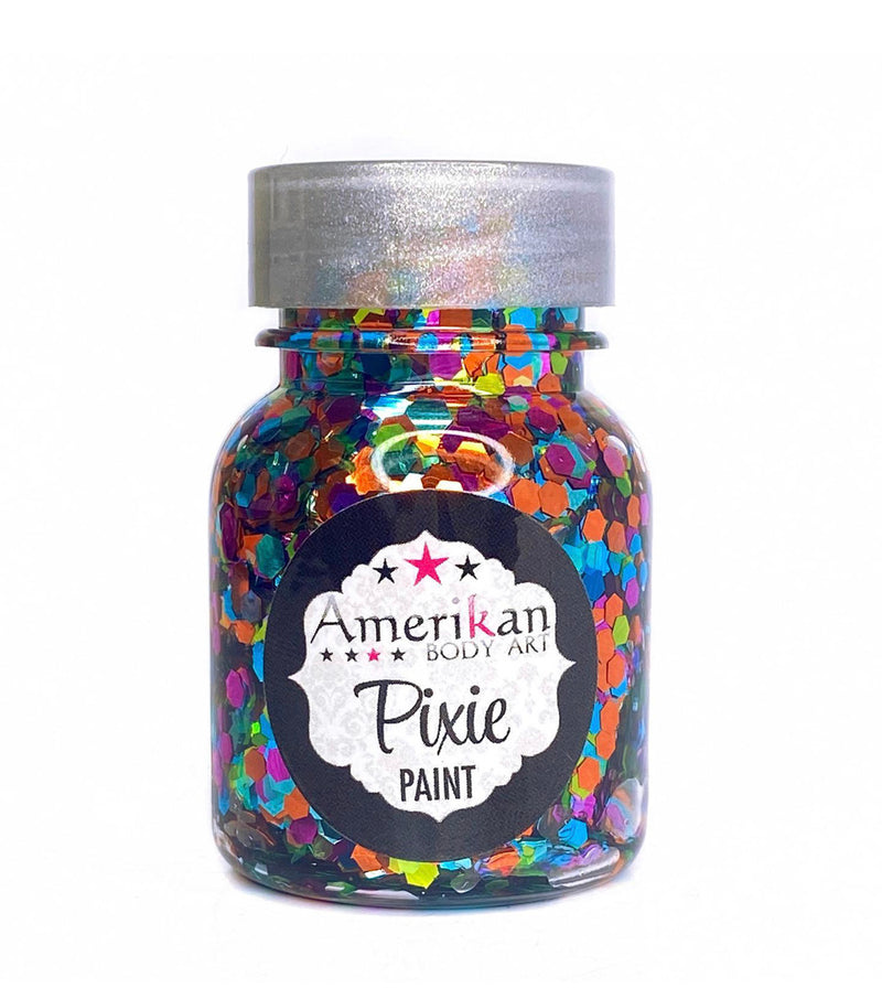 Amerikan Body Art Pixie Paint Glitter Gel Tropical Whimsy