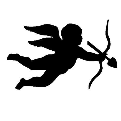 TAG Cupid Glitter Tattoo Stencil