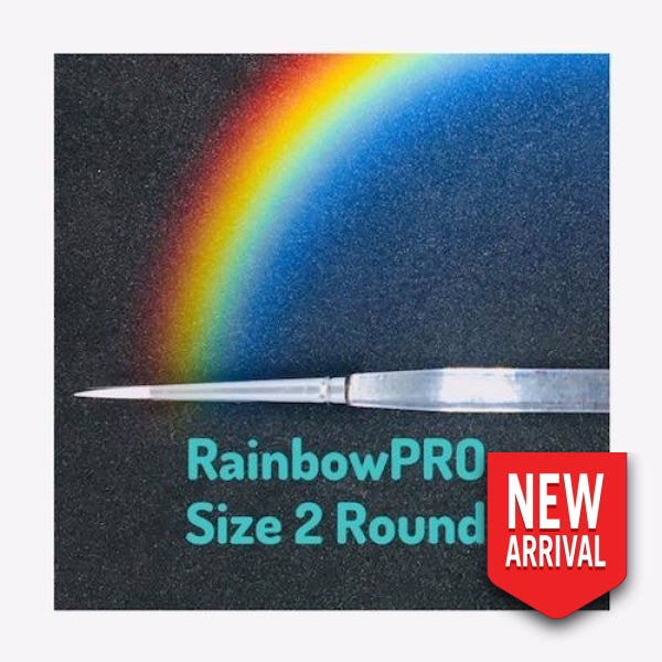 Rainbowpro Size 2 Round Brush