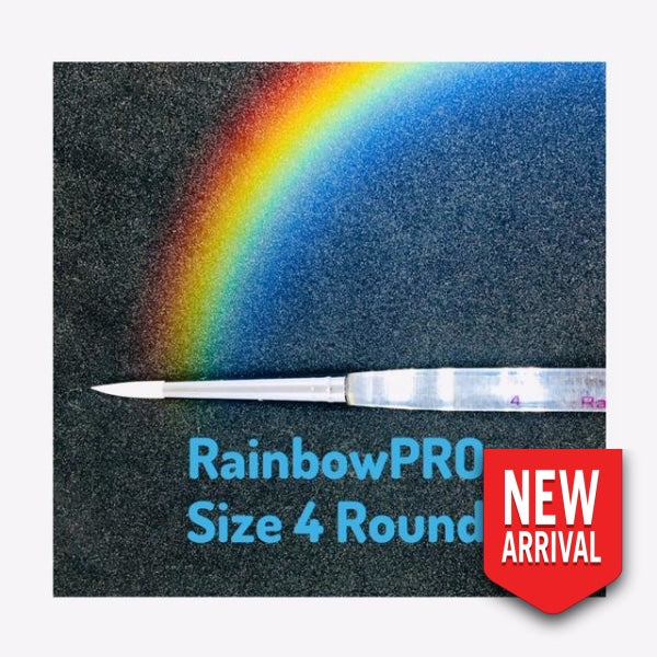 Rainbowpro Size 4 Round Brush