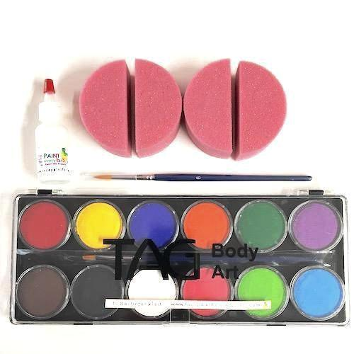 Beginners Face Painting Kit - Basic
