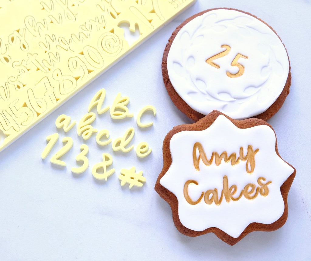 Cookie/Cupcake, Uppercase, Lowercase, Numbers & Symbols