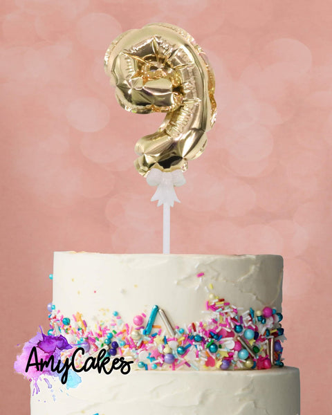 FOIL BALLOON - GOLD - 9